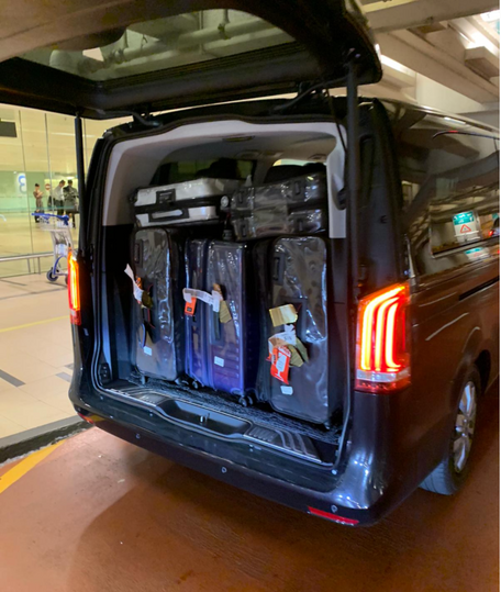 Mercedes V-Class / Viano - Boot Space