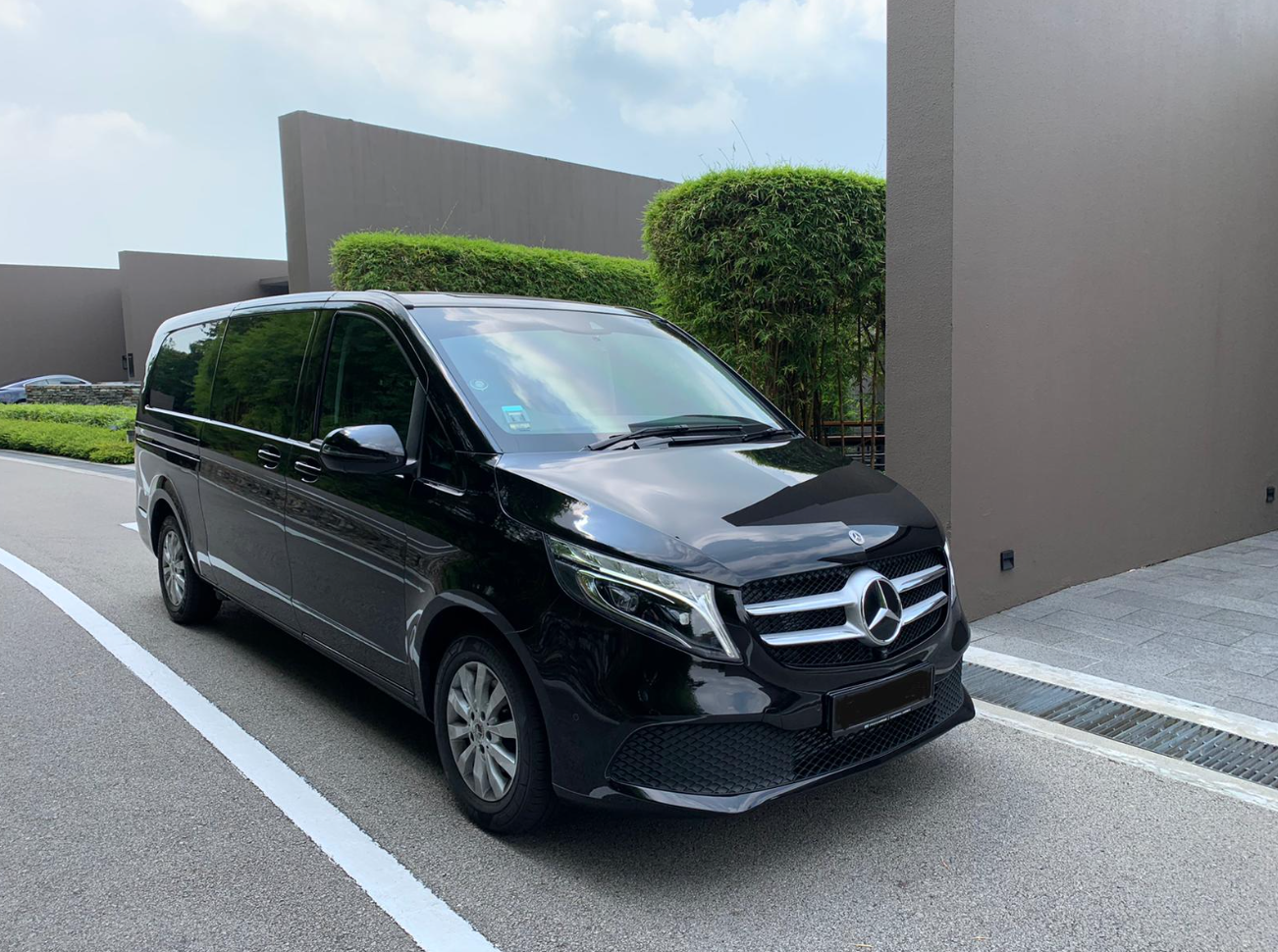 The All New Mercedes V-Class