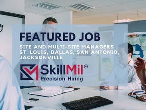 Featured Job: Site and Multi-Site Managers Needed (St. Louis, Dallas, San Antonio, Jacksonville)