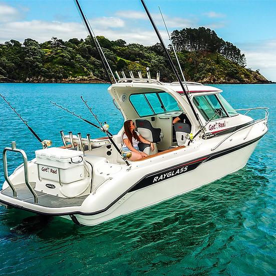 Rayglass boat ($299,000)