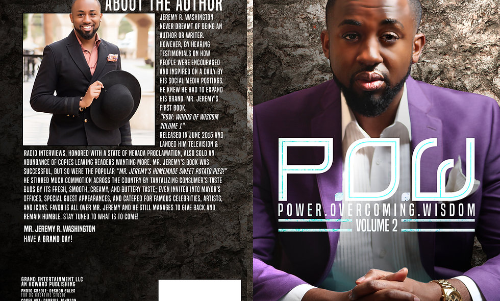 P.O.W Power Overcoming Wisdom