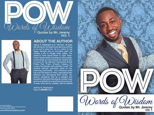 """POW """"Words of Wisdom"""""""