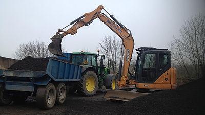 Case 8T Excavator