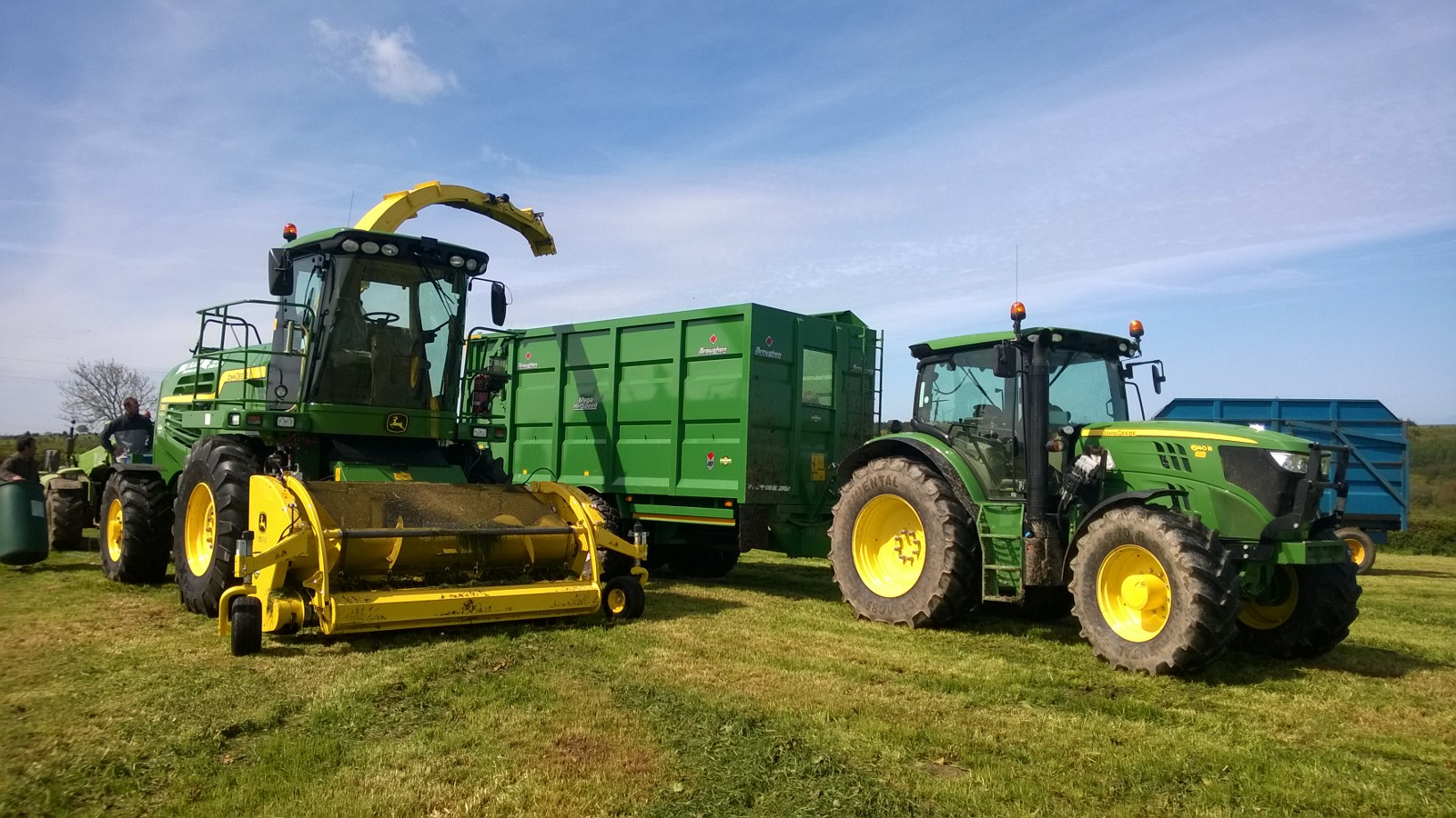 John Deere Self Propelled Forager