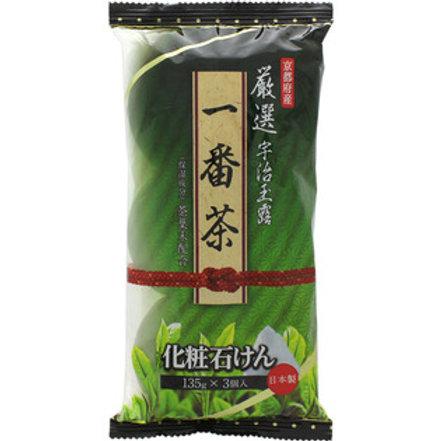 マックスお茶・石けん135gX3