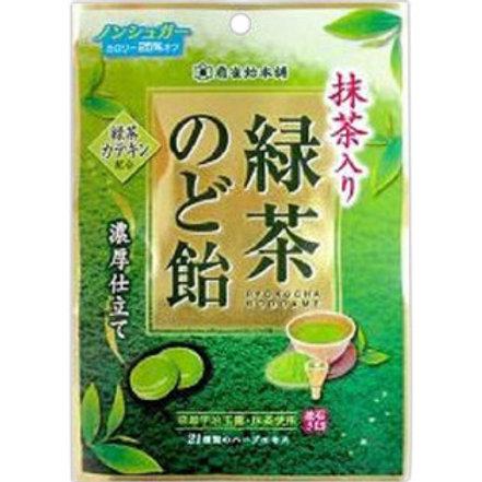 扇雀飴本舗緑茶のど飴100g