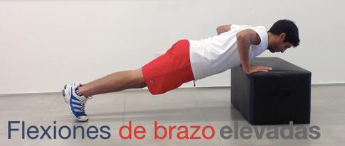 Flexiones de brazo
