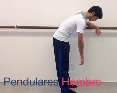Pendulares de hombro