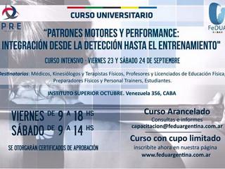 """Curso """"Patrones Motores y Performance"""""""