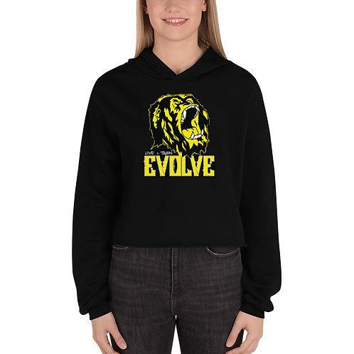 The Original Evolve Gorilla Women's Crop Hoodie