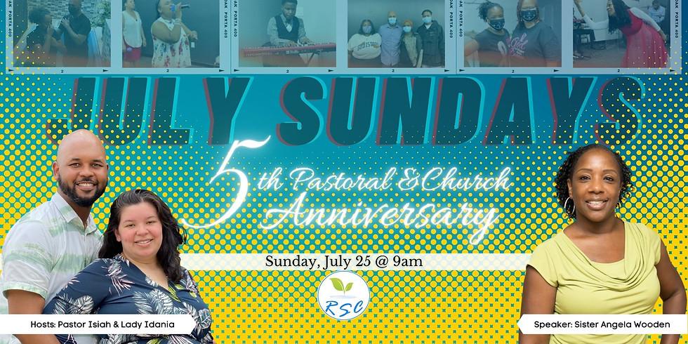 Sunday Morning Anniversary Worship! Speaker: Sister Angela Wooden