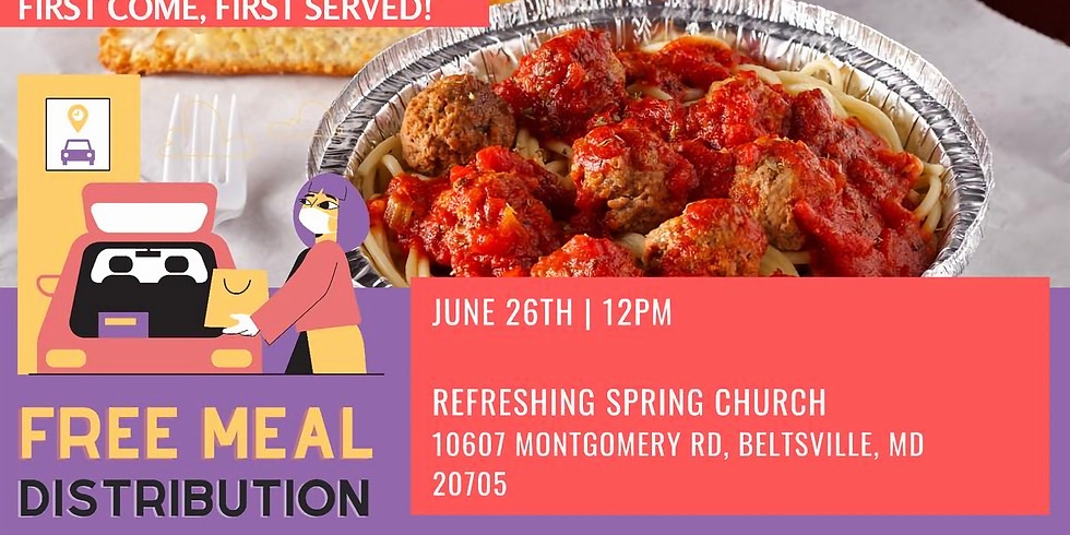 Free Meal Distribution