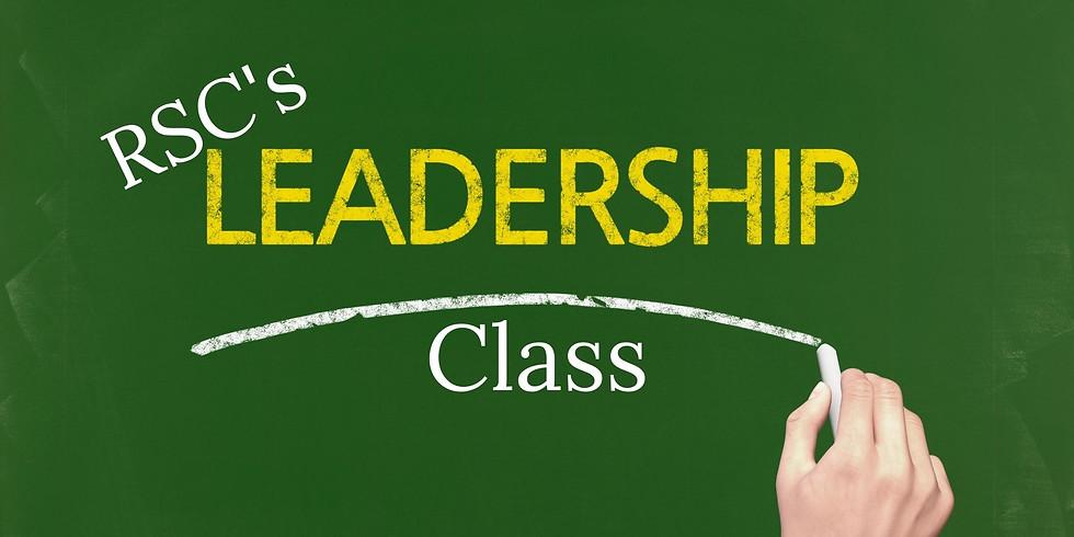 RSC's Leadership Class