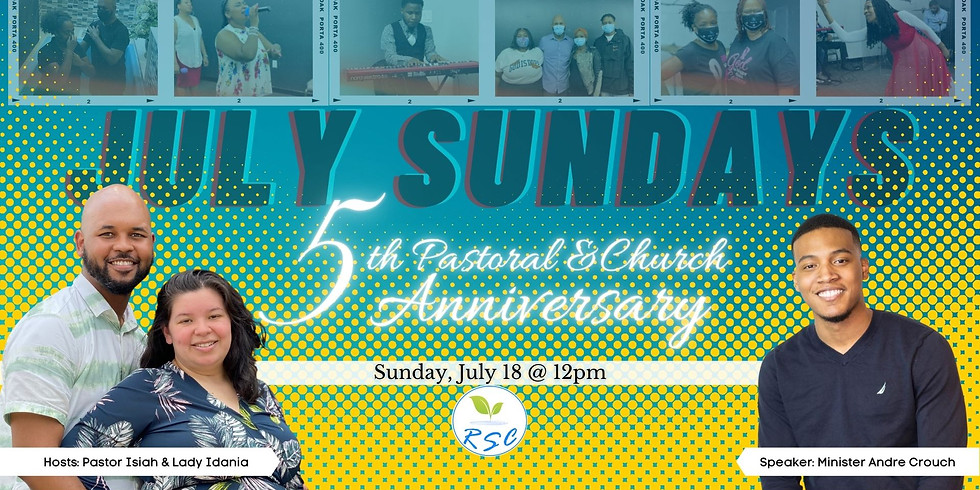 Sunday Afternoon Anniversary Worship! Speaker: Minister Andre Crouch