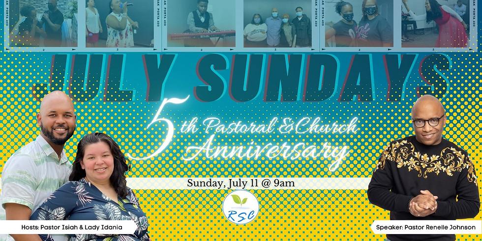 Sunday Morning Anniversary Worship! Speaker: Pastor Renelle Johnson