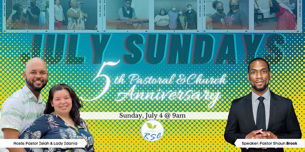 Sunday Morning Anniversary Worship! Speaker: Pastor Shaun Brock