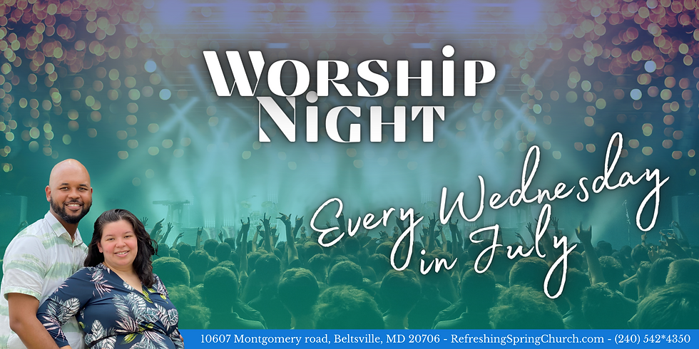Worship Night!