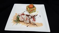 Lotte au Serrano, Sauce Corail