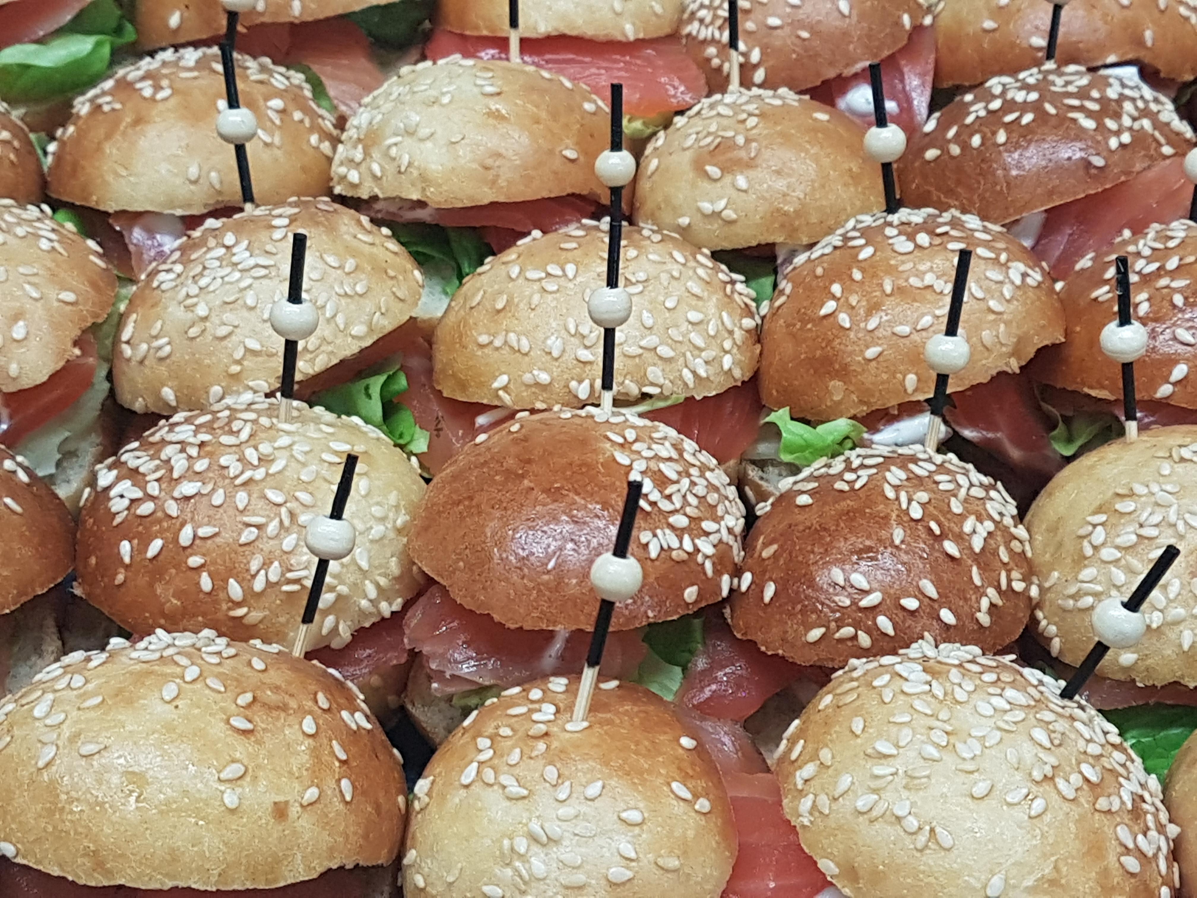 Burger Gravlax
