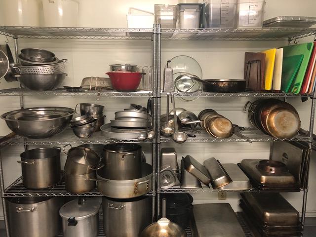All pots/pans etc