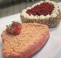 Heart Shaped Cheesecakes
