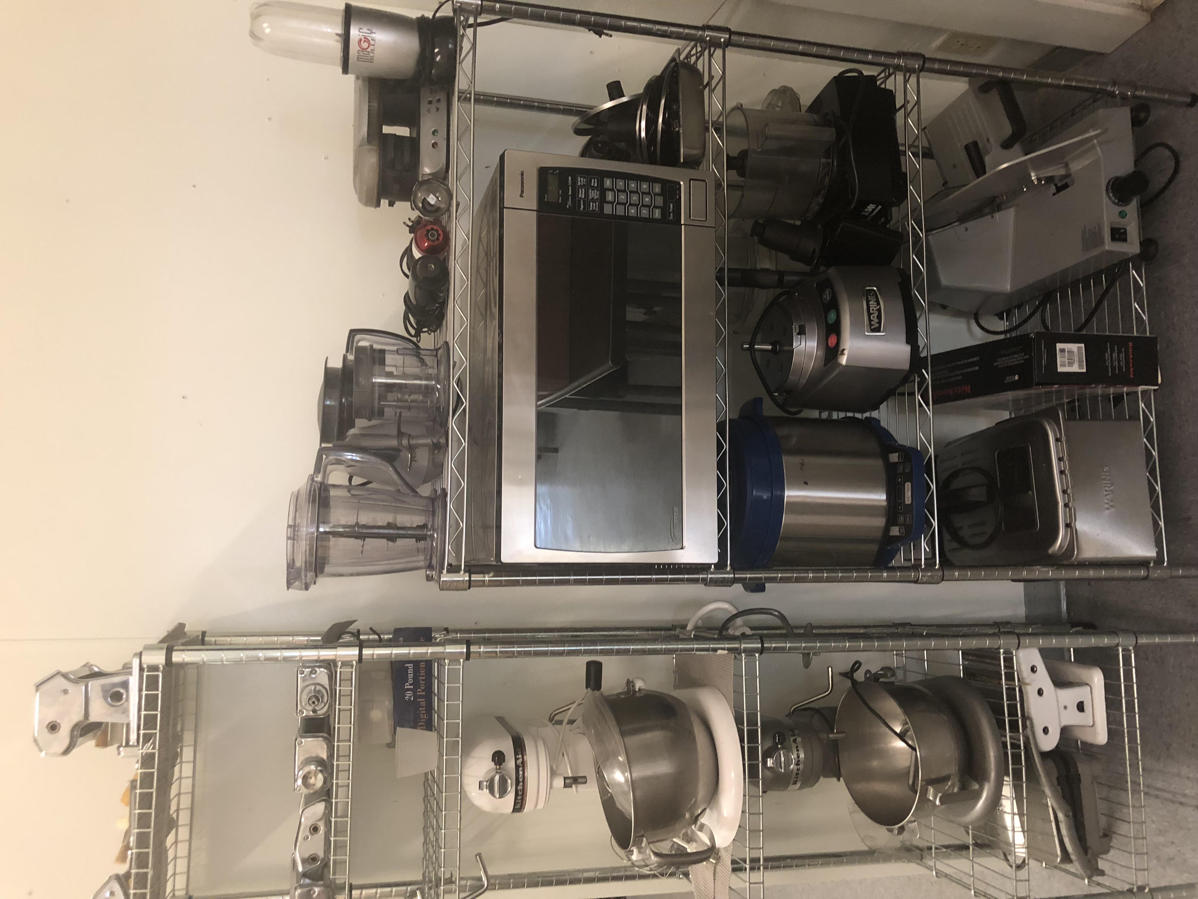 Additional small equipment