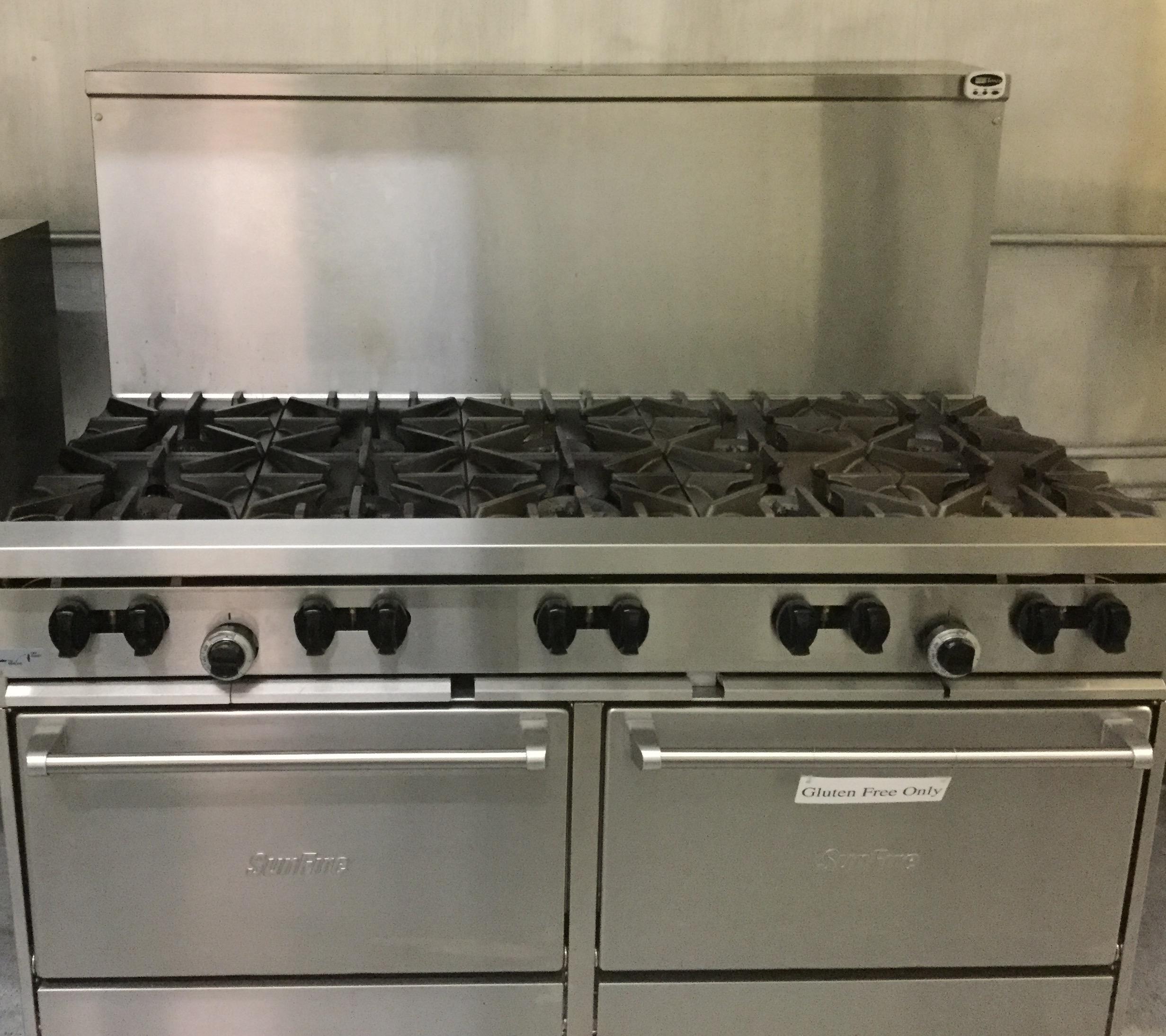 10 and 6 burner stoves