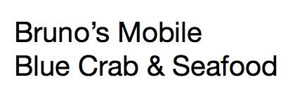 Brunos Mobile Blue Crab and Seefood-Mobile Food Unit