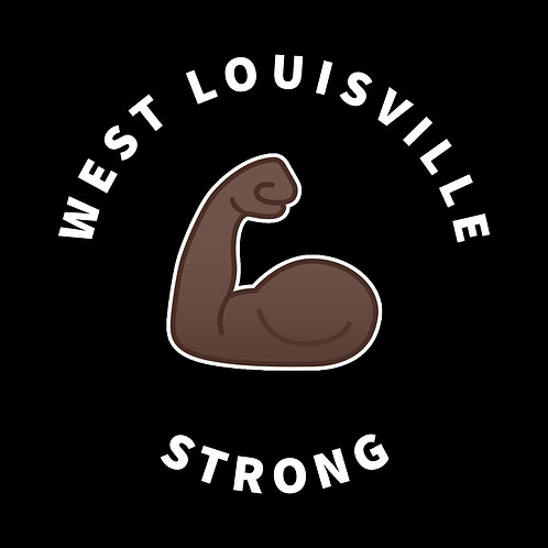 West Louisville Strong Black Tee