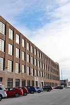Badger State Lofts brick exterior