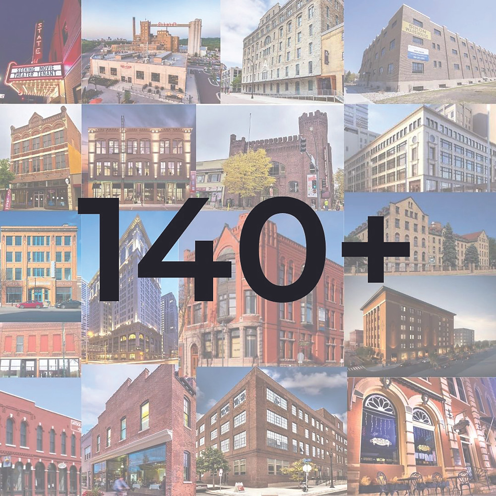 17 historic buildings that have benefitted from the Minnesota Historic Tax Credit
