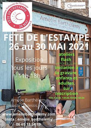 FETE DE LESTAMPE 26 MAI ateliers flash