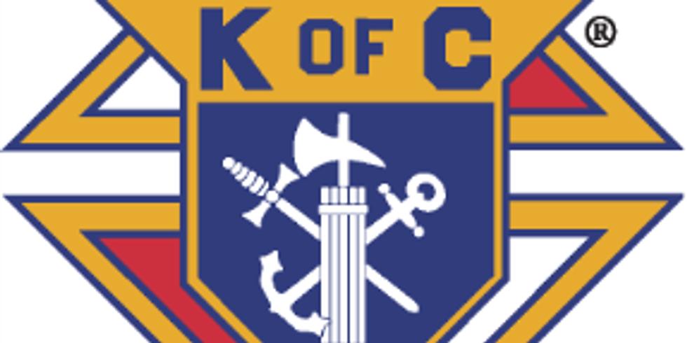 Knights of Columbus Food Drive