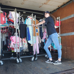 Loading a Clothing Donation