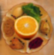 תפוז בקערת הסדר.jpg