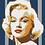 Thumbnail: Size L Marilyn Monroe