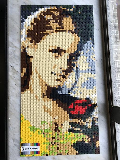 Size M Emma Watson portrait