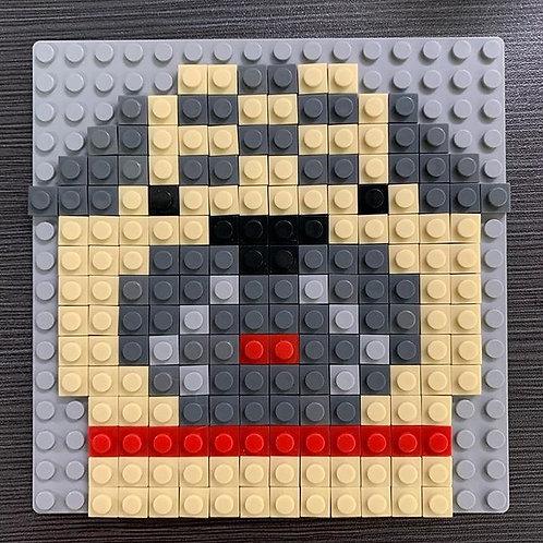 Pug brick puzzle