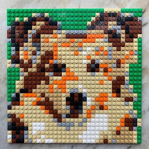 Collie brick puzzle