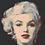 Thumbnail: Size L Marilyn Monroe close up