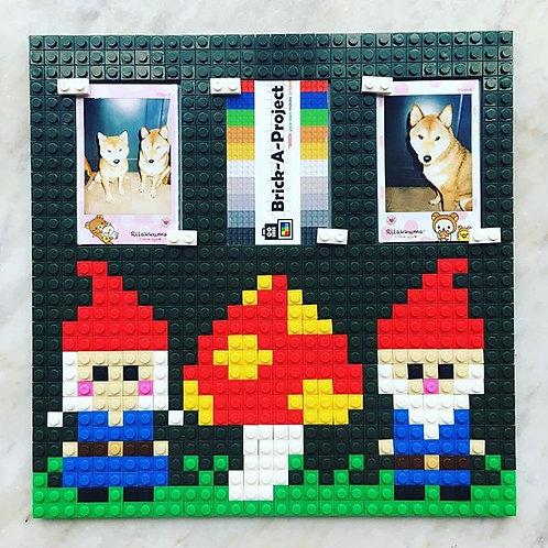 Gnome photo frame
