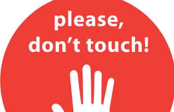 Sign Please Don't Touch