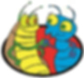 Surekill Pest Control image of the Cockroach and Termite shaking hands