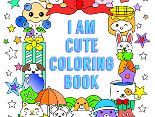 """FREE book giveaway """"I Am Cute Coloring Book"""""""