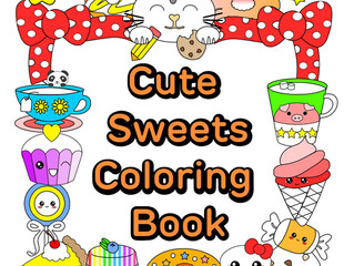 Cute Coloring Book Giveaway