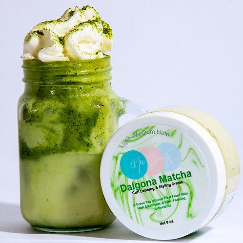 Dalgona Matcha Curl Cream