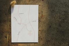 map illustration wedding