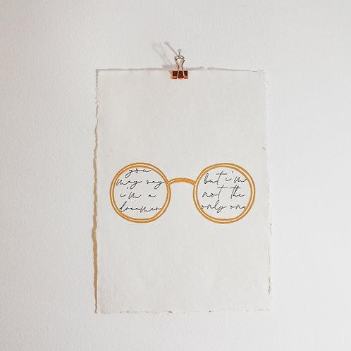 John Lennon | Music Love Art Print
