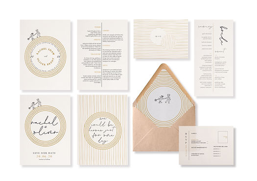 envelope liner wedding stationery music