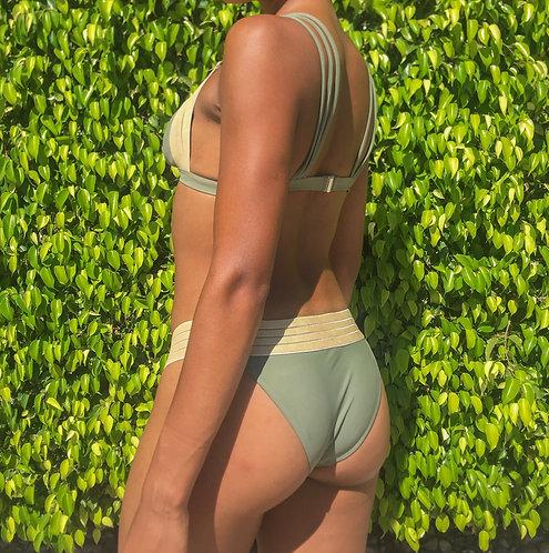 Copacabana Bikini | Olive Gold